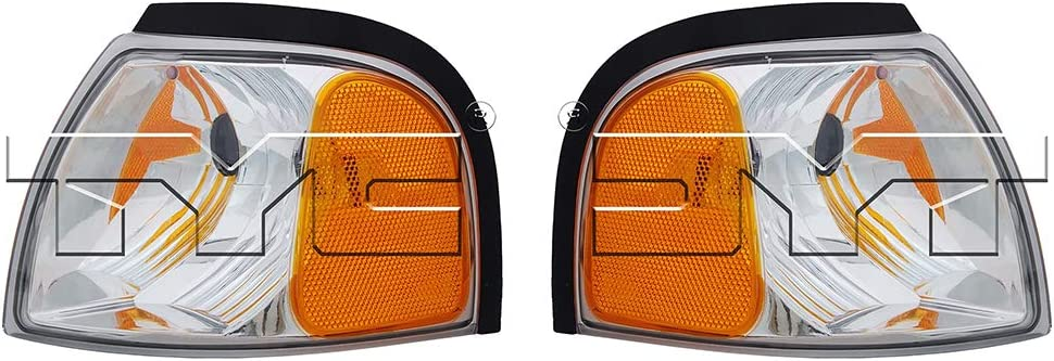 Replaces MA2520119 MA2521119 For 2001-2010 Mazda B2500 Turn Signal//Parking Light Assembly Driver and Passenger Side DOT Certified CarLights360