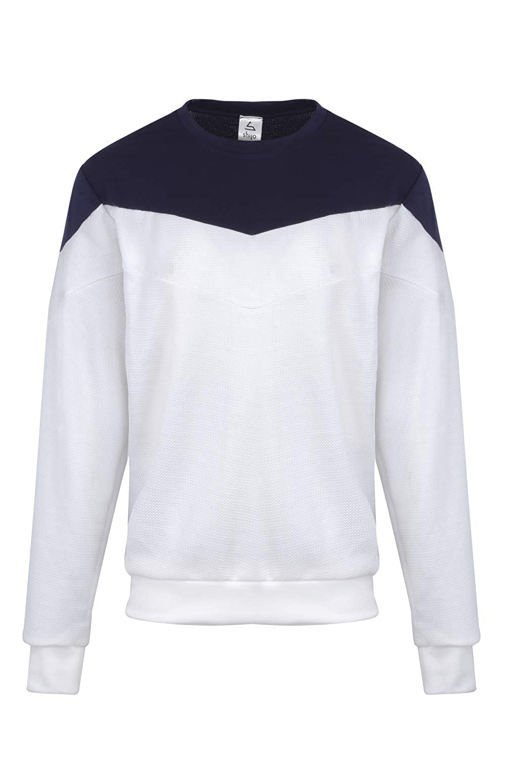 Made in France Long Sleeves Simy- Sweatshirt for Men Sweatshirt Slim and Ideal for Sports and for City