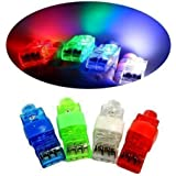 CALIFORNIA CADE ELECTRONIC Cade Bright LED Rave Finger Lights, Pack of 40