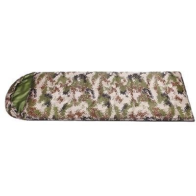Camouflage Enveloppe Sacs de couchage Élargi Plus épais Résistant au vent Garder au chaud Coton Sacs de couchage