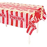"Plastic Popcorn Table Cover - 54"" x 108"" (1-Pack)"