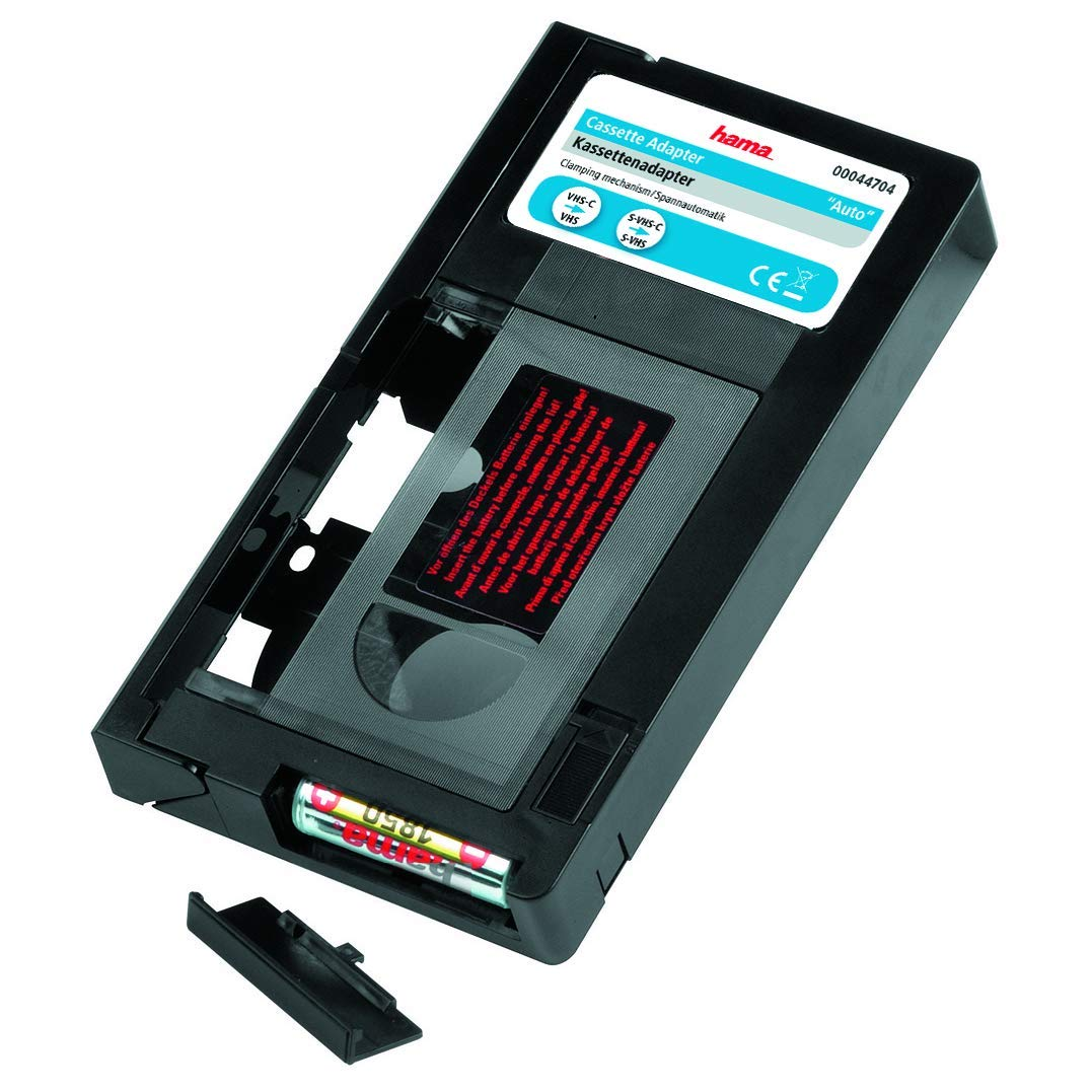 Hama Videotape Adapter VHS-C/VHS, 44704 by Hama