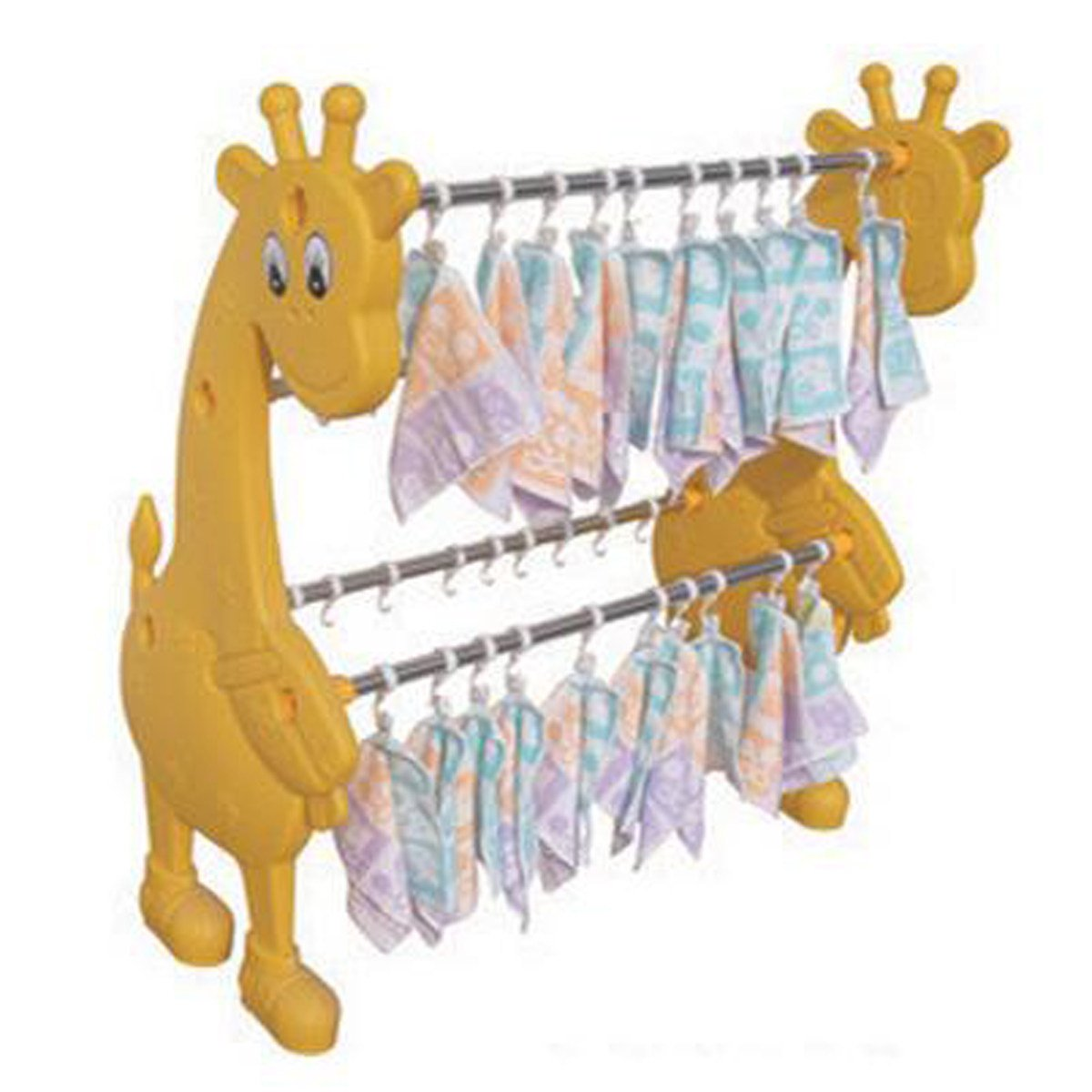 Kindergarten Cartoon Animal Towel Rack Children Dedicated Classification Rack