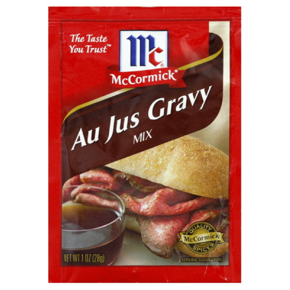 McCormick Au Jus Natural Style Gravy Mix, 1-ounces (Pack of12)