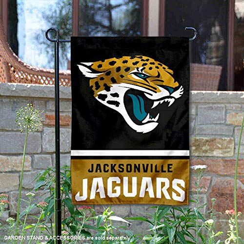 WinCraft Jacksonville Jaguars Double Sided Garden Flag