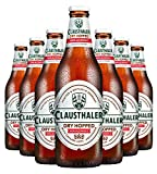 Clausthaler Amber Dry Hopped Non-Alcoholic Beer, 12-oz (350 ml) Case of 12 Glass Bottles