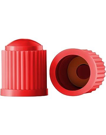 bbc10382a61 Valve-Loc Tire Valve Caps (25-Pack) Red