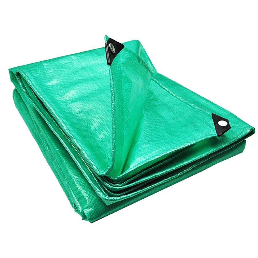 QX pengbu IAIZI Plane verdicken Plastikgrün-Wasserdichten Isolierungs-Balkon-regendichte Sicherheit geruchlos 0.35mm Starkes 180g   m2 (Farbe   Grün, größe   6  10m)