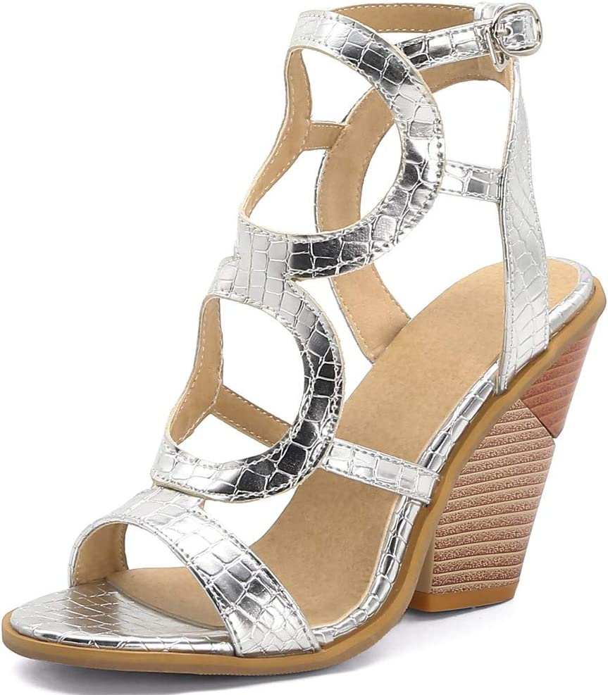 GFHFHITJ Hot Sale!Summer Wedges Sandals