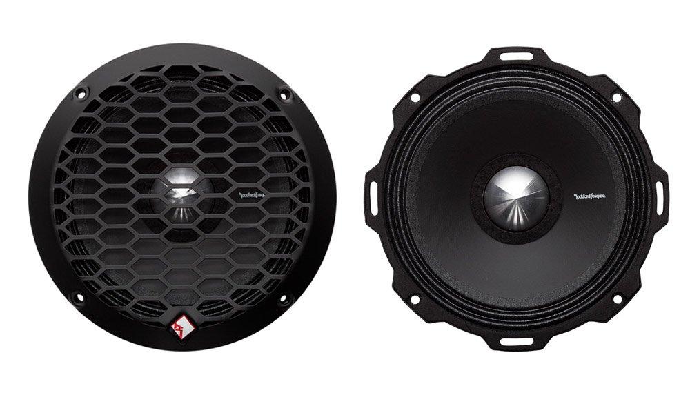 2) Rockford Fosgate PPS4-6 6.5'' 400 Watt 4-Ohm Midrange Car Loudspeakers Speaker