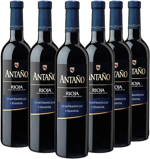 Antaño Vino Tinto D.O Rioja
