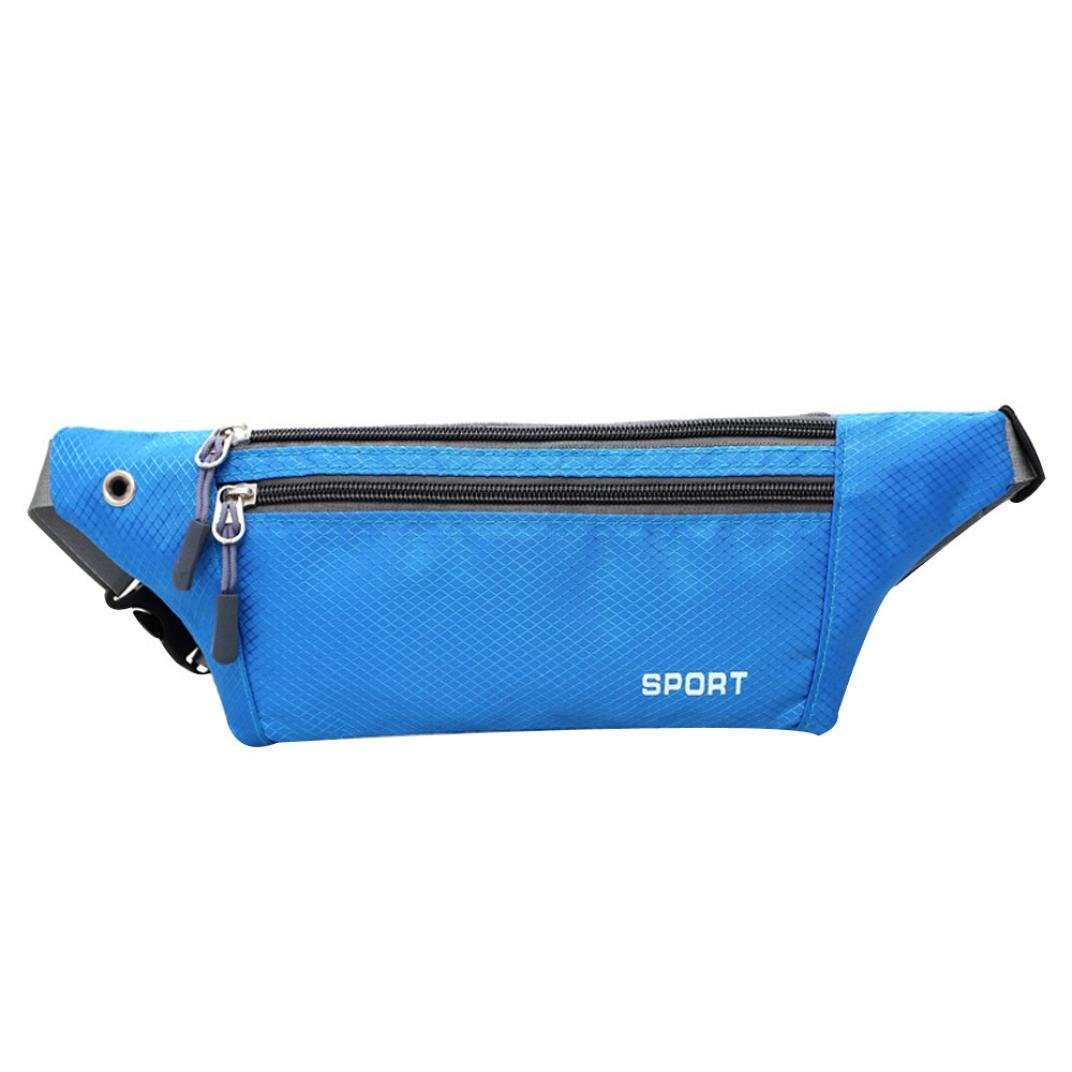 TIFIY Dame Outdoor Running Gürteltasche Mode Gym Fitness Tasche Wasserdichte Telefon Gürtel Bauch Tasche
