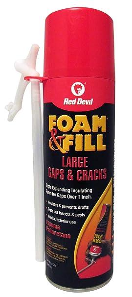 Red Devil Espuma y relleno expandible espuma de poliuretano triple expandible aerosol: Amazon.es: Bricolaje y herramientas