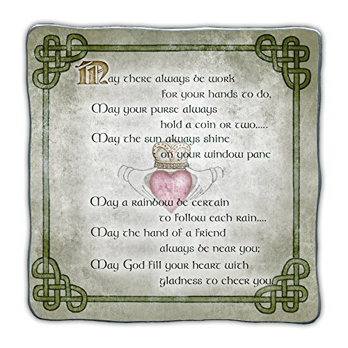 Cathedral Art Irish Blessings Wall Plaque