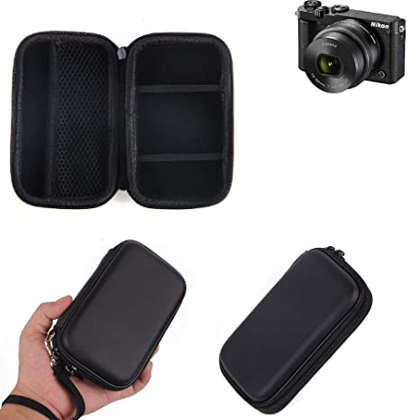 K-S-Trade® Caso Duro, Estuche para Cámara Compacta Nikon Nikon 1 ...