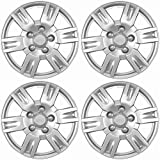 05 nissan altima hubcaps - Hubcaps for Nissan Altima (Pack of 4) Wheel Covers - 16 Inch, 6 Spoke, Snap On, Silver
