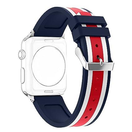 Correa Apple Watch 42mm, Rosa Schleife Reemplazo Band Smart watch ...