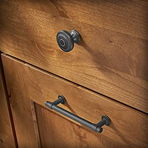Franklin Brass P29618K-SI-B Soft Iron 5-Inch Francisco Kitchen or Furniture Cabinet Hardware Drawer Handle Pull, 10 pack