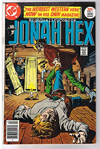 JONAH HEX #1, VF, Scar face, Western, Gladiator ,1977, more JH in store ()