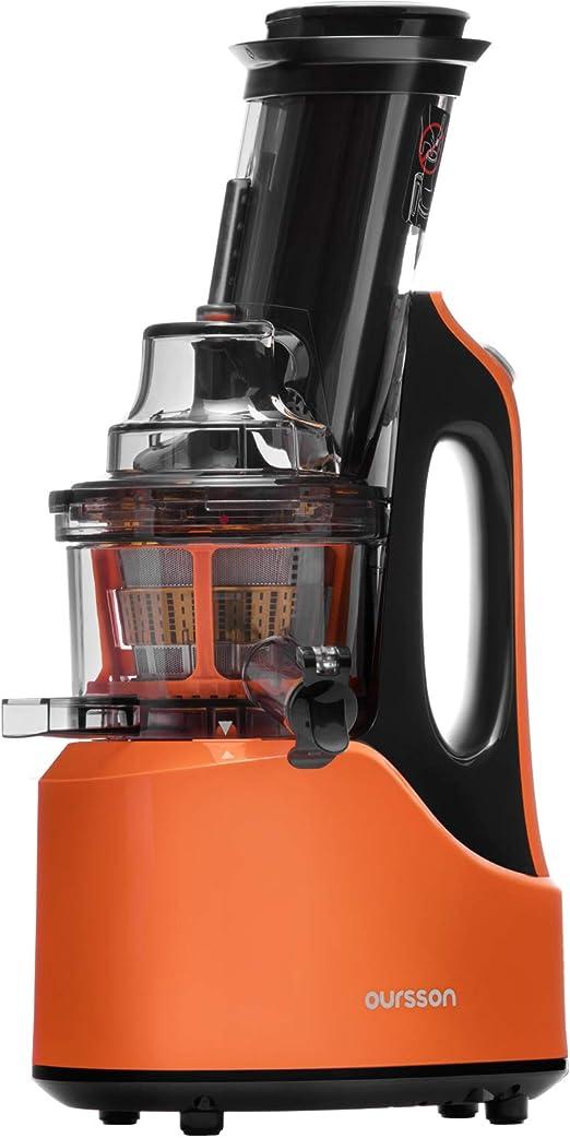 Oursson Extractor de Zumo Licuadora Prensado en Frio Licuadoras para Verduras y Frutas | Máquina de