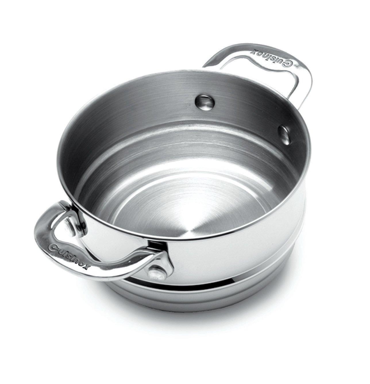Cuisinox POT-320DB Elite Double Boiler Insert, 20Cm, Stainless Steel
