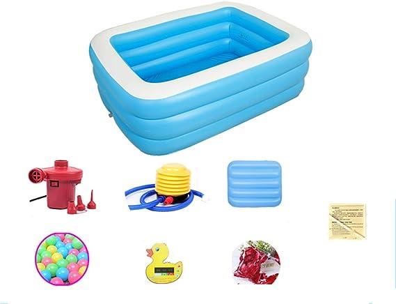 LYM & bañera Plegable Baño de bañera Inflable Bañera de Cuerpo ...