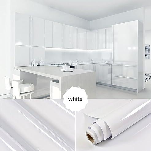 2 Rollen] AuraLum® 61cm x 5m Hochglanz Selbstklebend Küchenschrank ...