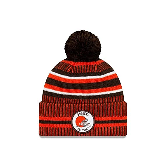 A NEW ERA Era On Field Sport Knit Hm Beanie ~ Cleveland Browns ...