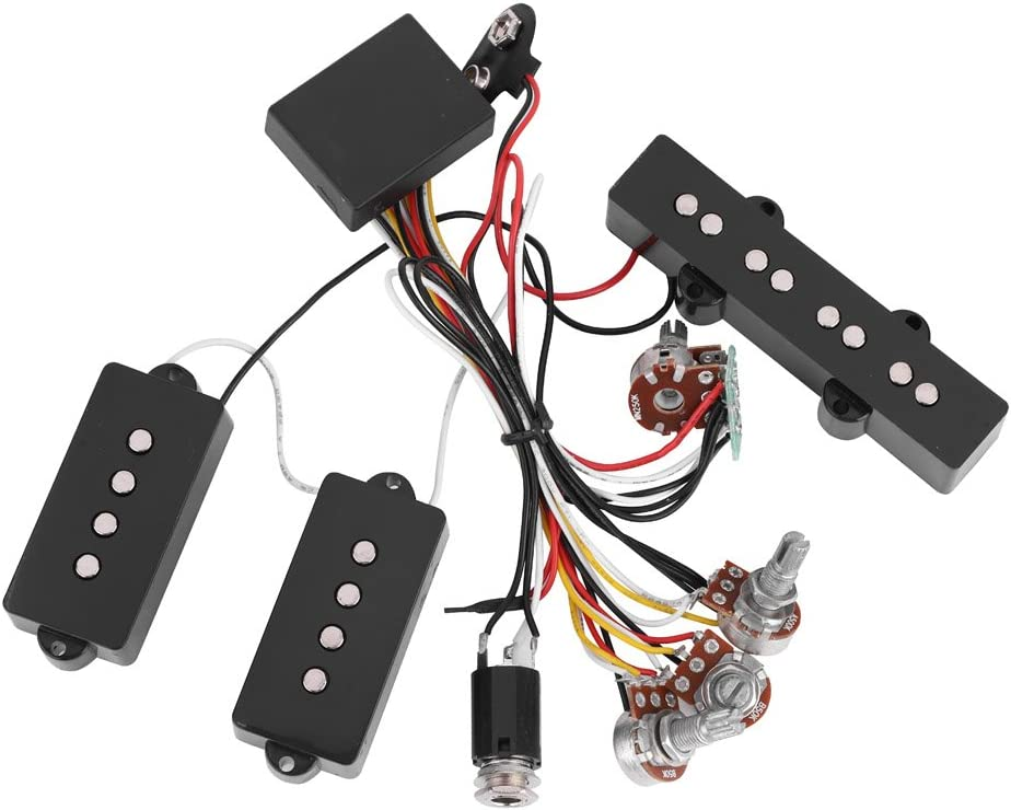Passive Jazz Bass Wiring Diagram from images-na.ssl-images-amazon.com