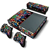 FriendlyTomato Xbox One Console and Wireless Controller Skin Set – SuperHero – XboxOne Vinyl