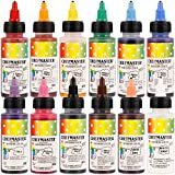 Chefmaster Air Brush Color Variety Pack, Twelve 2 oz. bottles