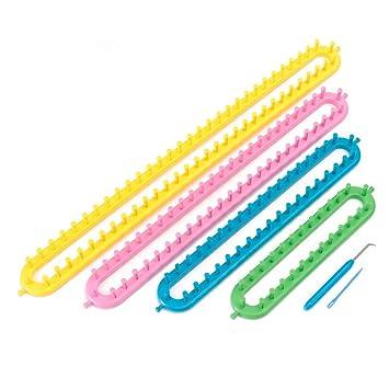 4 Rund Knitting Loom Set Strickrahmen Strickring Knit Rahmen Strick Socken