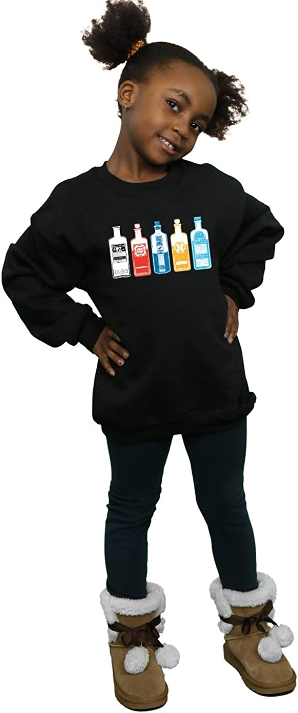 Fantastic Beasts Girls Potion Collection Sweatshirt Black 12-13 years