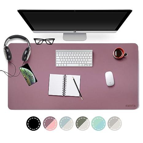 Amazon.com: Alfombrilla de escritorio de doble cara, de ...