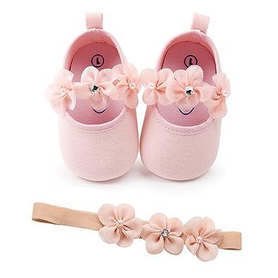 Amazon.com: Sofmuo - Zapatos de bebé con suela suave y ...