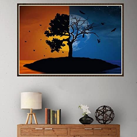 DIY 5D Diamond Painting  with Diamonds Canvas Art Picture for Wall Decor