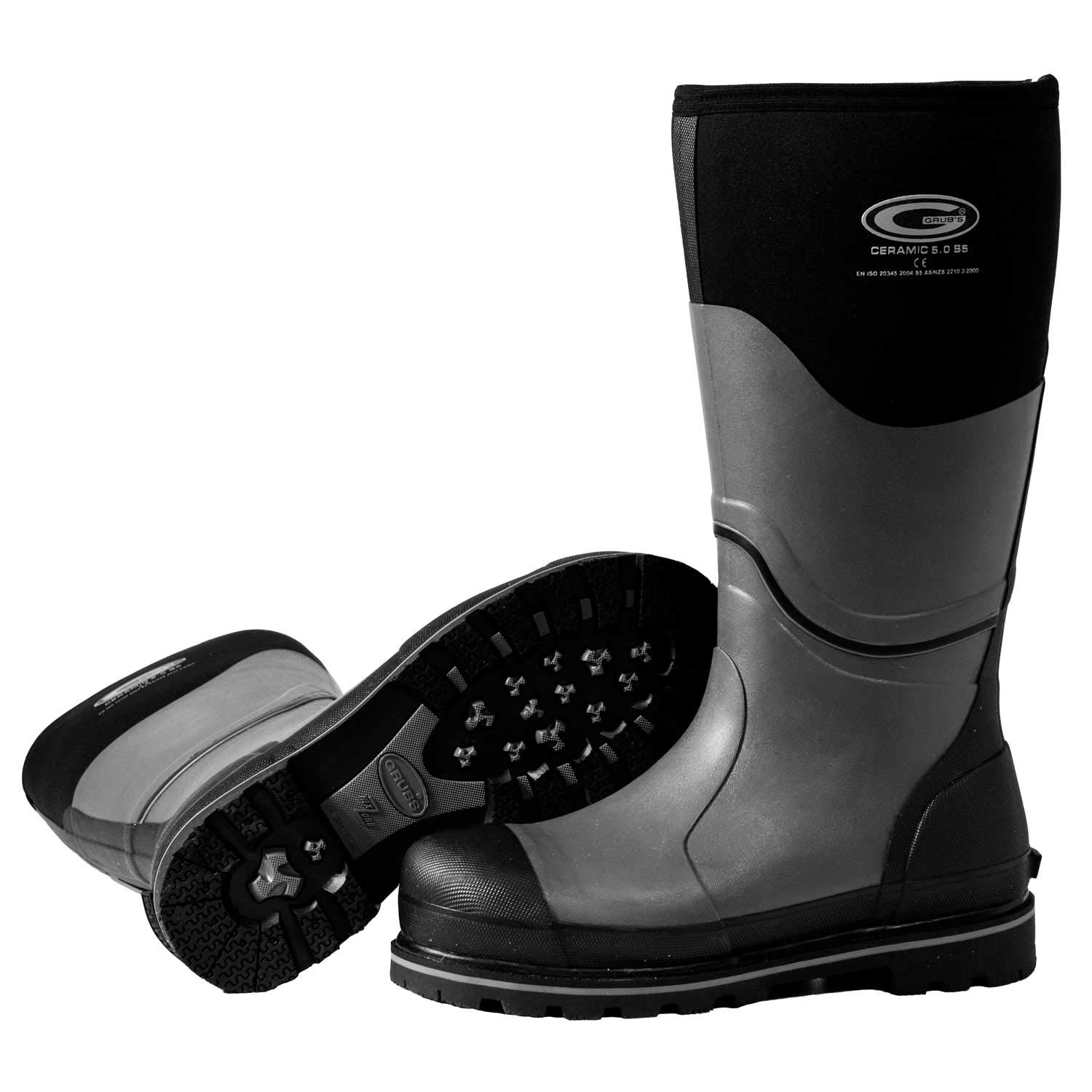 Grubs Ceramic High 5.0 Safety Boot