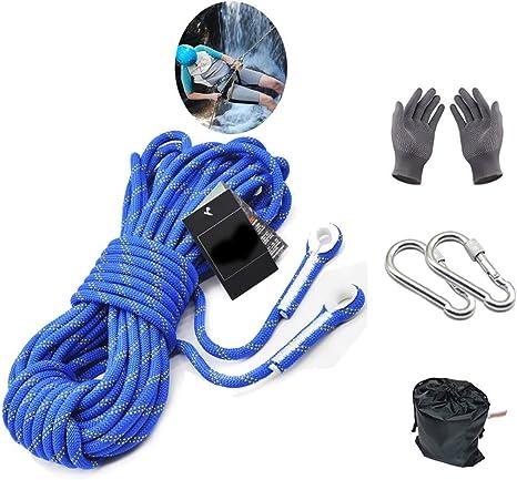 ZZKJNIU Cuerda De Seguridad para MontañIsmo: Cuerda De ...