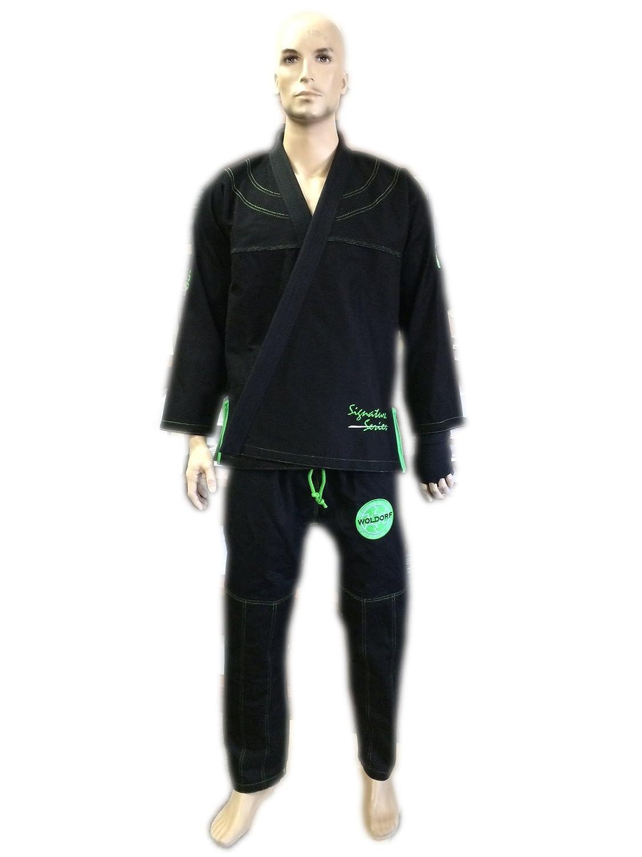 Brazilian Jiu Jitsu着物パール織りGI Competition Uniform woldorf usaブラックwith Rip Stopパンツサイズ4 a2 B00AJNN898