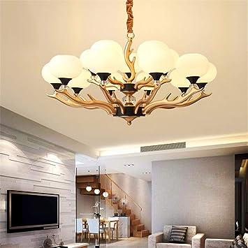 RBH Lampadario Plafoniera LED Tri-Color Lampada dimmerabile ...