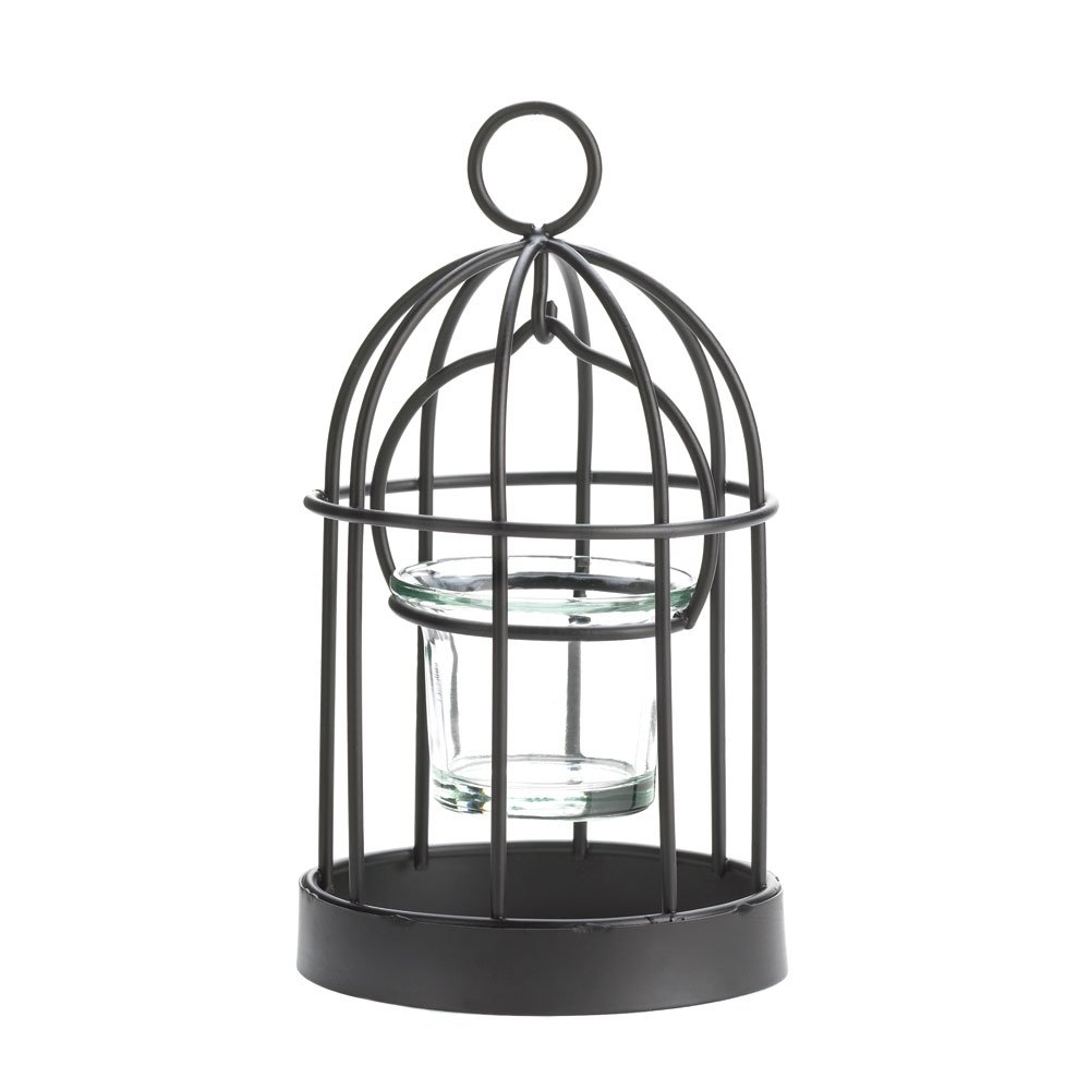 Amazon.com: 10 WHOLESALE SET OF MINI BIRDCAGE CANDLEHOLDER: Home ...