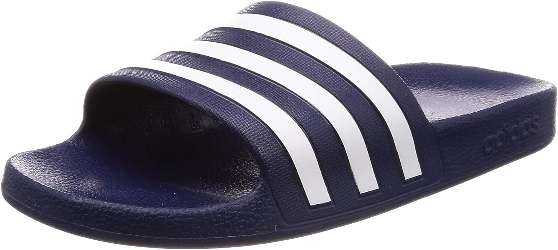 Adidas Adilette Aqua Zapatos de Playa y Piscina Unisex Adulto, Azul (Navy F35542)