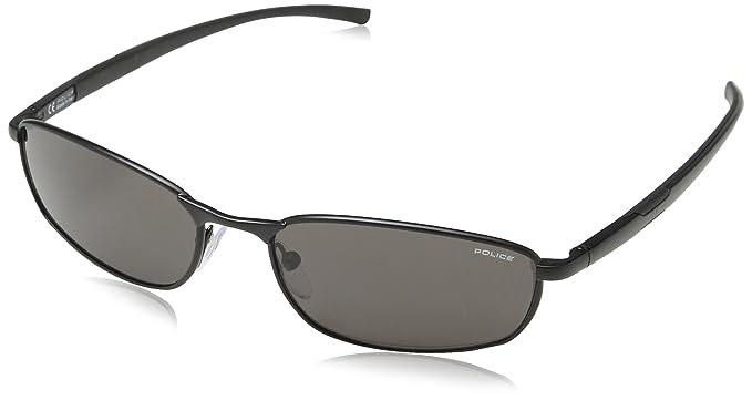 Police S8183, Gafas de Sol para Hombre, Gris (Semi-Matt ...