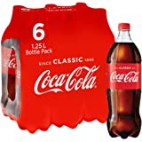 Coca-Cola Soft Drink Multipack Bottles 6 x 1.25L