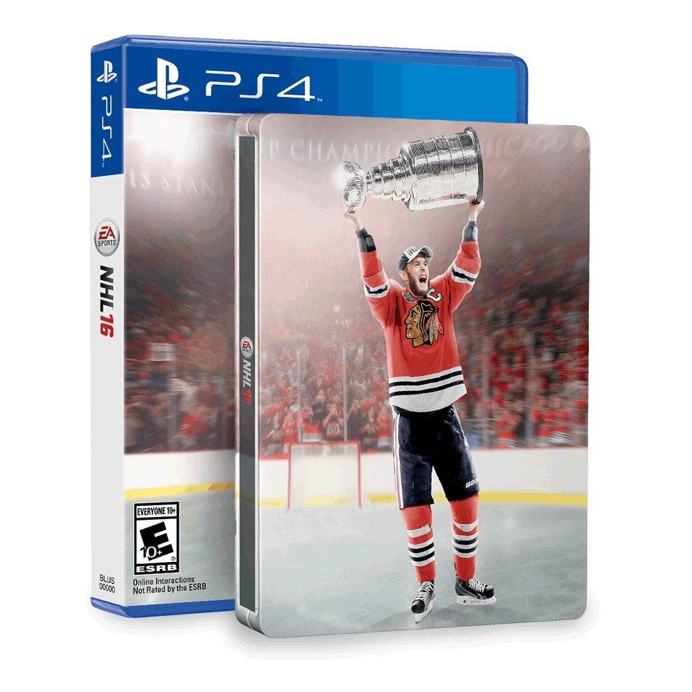 NHL 16 & SteelBook (Amazon Exclusive) - PlayStation 4 (輸入版) B016NZGKEU