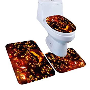 Contour Rug And Lid Cover Absorbent Solid Rug Toilet Seat Cover