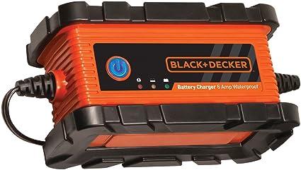 Black+Decker bc6bdwe impermeable Batería Cargador/Mantenedor ...