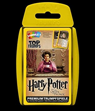 Winning Moves GmbH win62820 No Top Trumps: Harry Potter y la ...