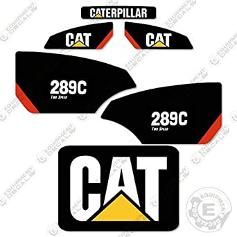 Amazon.com: Caterpillar 289C 2 Speed Decal Kit: Industrial ...