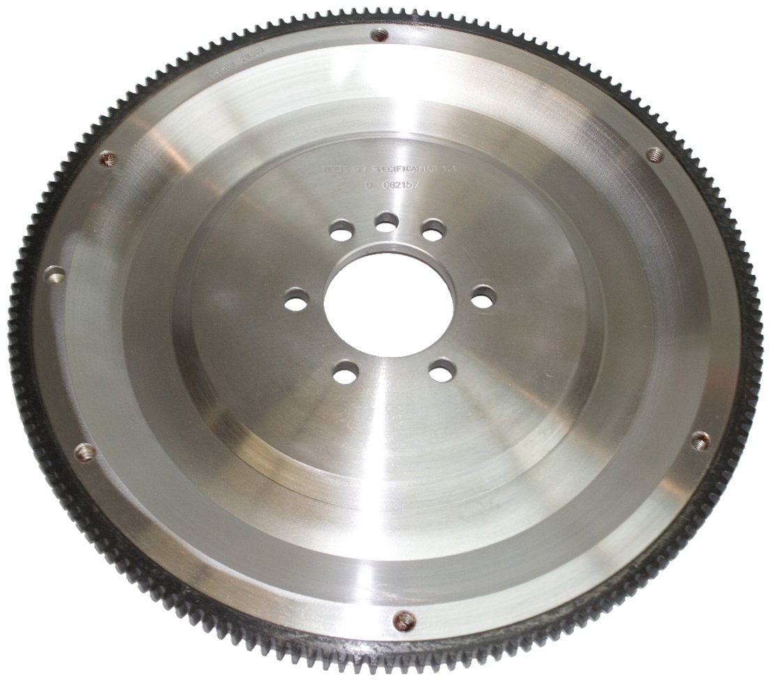 PRW 1628300 SFI-Rated 21 lbs. 168 Teeth Billet Steel Flywheel for Chevy SB V6/V8 1955-85 265-454
